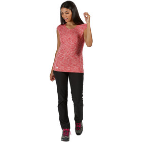 Regatta Hyperdimension Camiseta Mujer, red sky